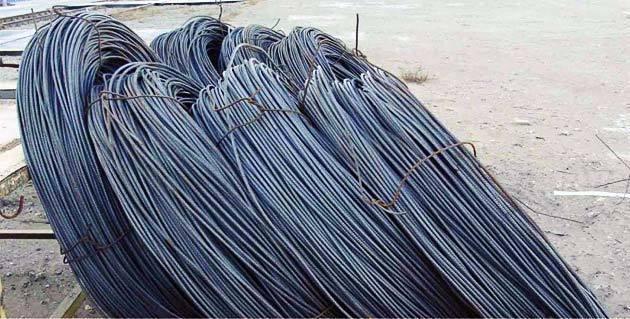 Фото арматурной стали в мотках