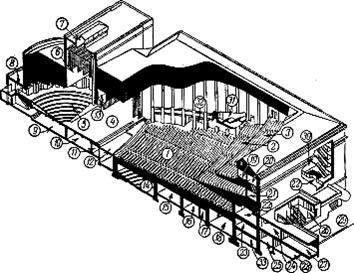 Фото изометрии концертного зала университета