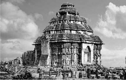 Фото Храма бога солнца Сурья. Общий вид. XIII в.