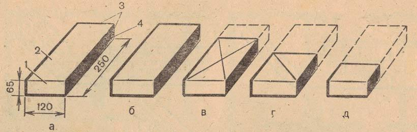 Фото кирпича и его частей