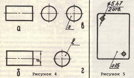 Примеры выбора главного изображения на чертежах