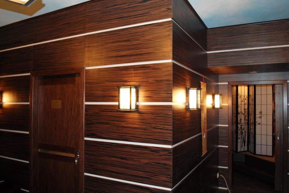 декоративная отделка стен панелями мдф