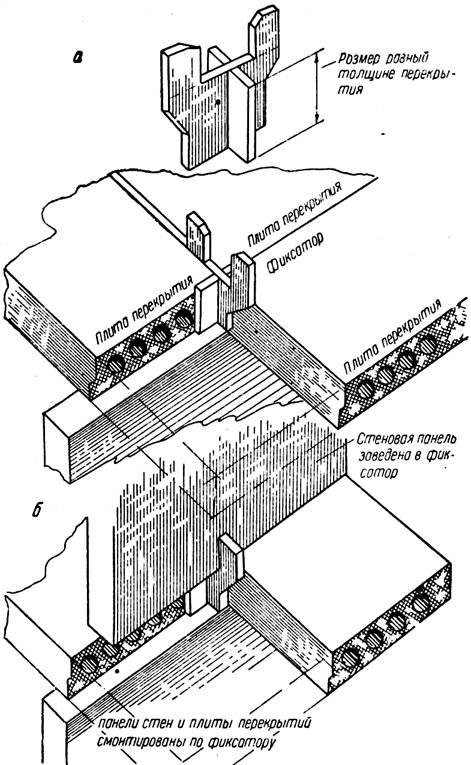 Монтаж крупнопанельных жилых зданий image246.