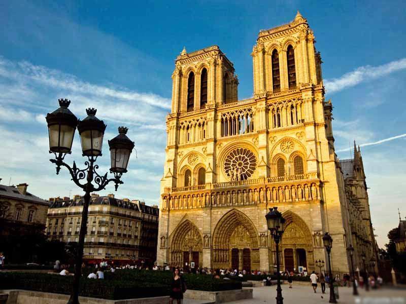 Фото собора Парижской Богоматери