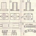 Примеры главных изображений на чертеже